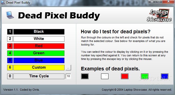 Monitörlerde, LED ve LCD Tvlerde Ölü Pixel Testi Nasıl Yapılır ?