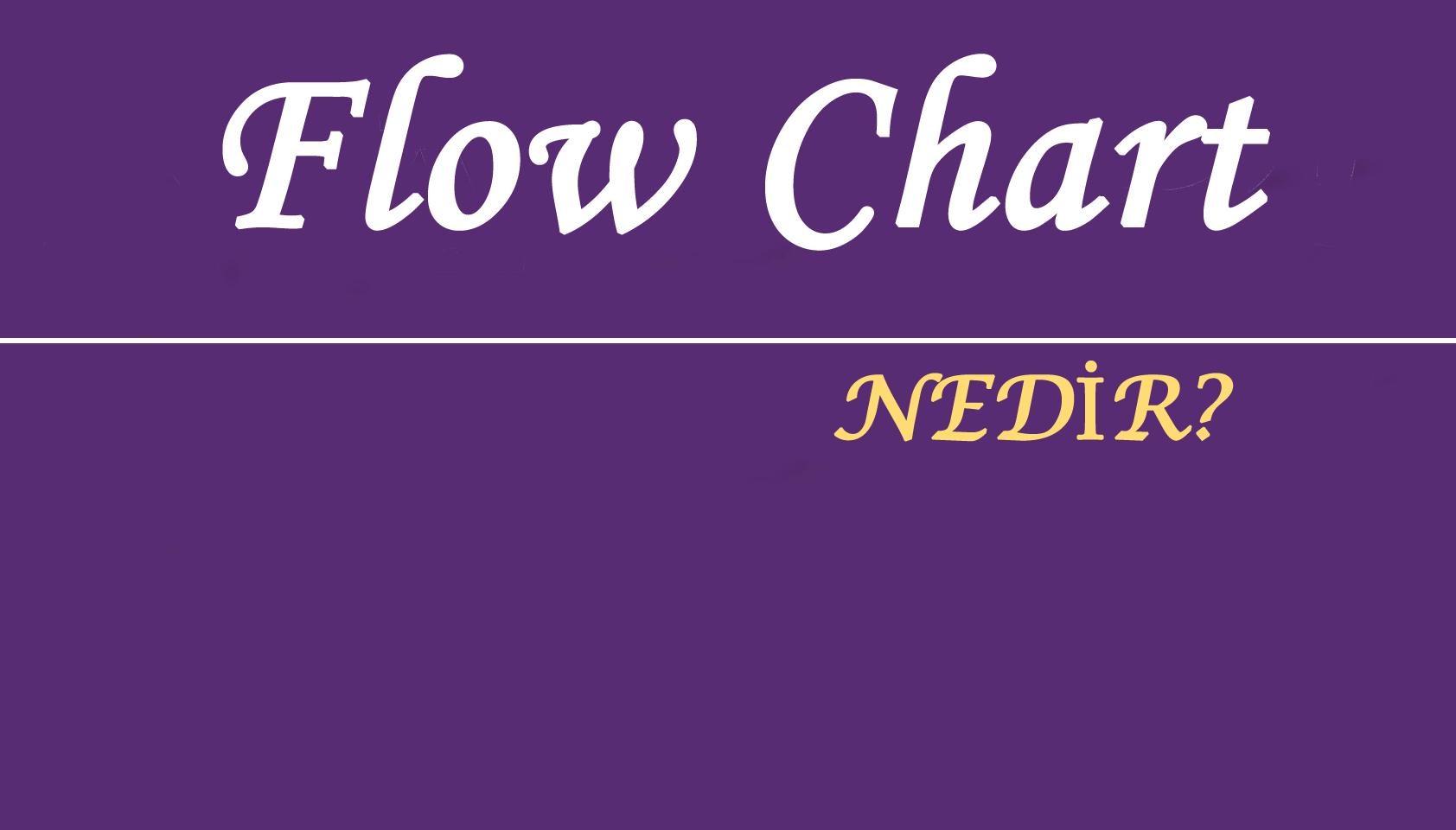 Flowchart – Programlama diline başlayanlar için